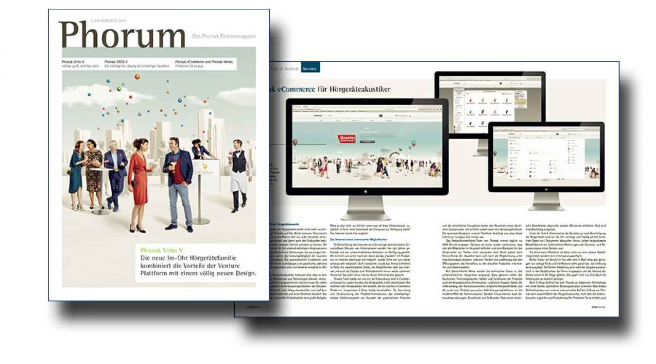 Kundenmagazin Phorum von Phonak